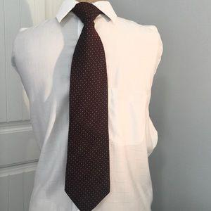 Vintage Italian Silk Tie. Perry Ellis Portfolio.